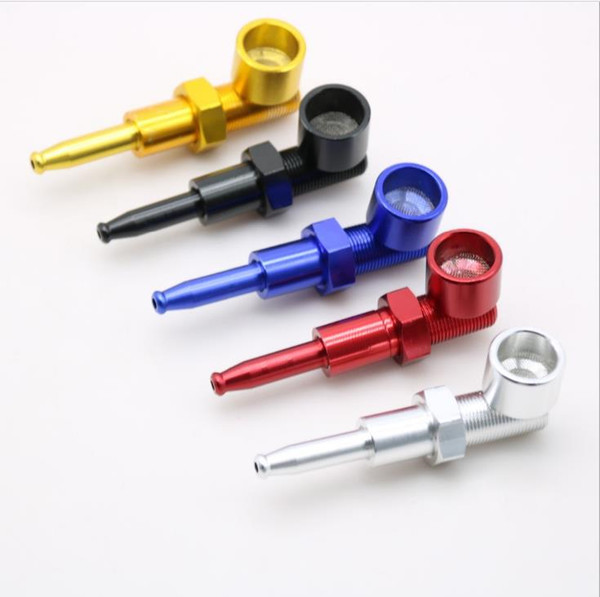 Screw Aluminum Pipe Creative Mini Pipe Metal Pipe