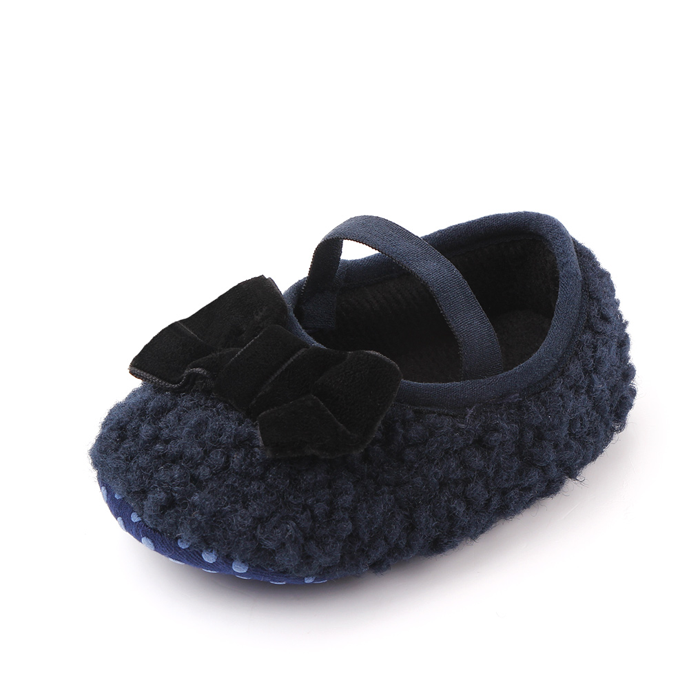 Baby / Toddler Cutie Bowknot Furry Prewalker Shoes