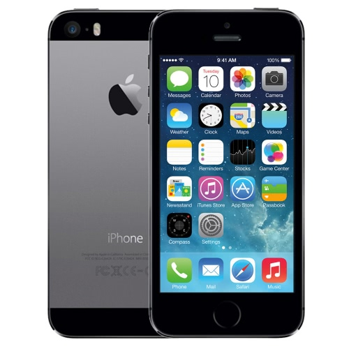 Refurbished Apple iPhone 5S Smartphone-Unlocked- Good Condition