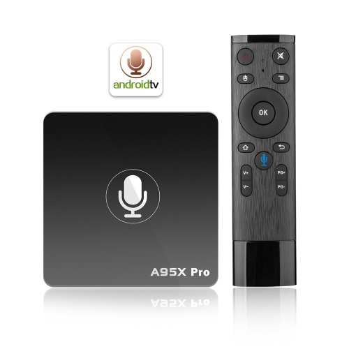 A95X Pro Android 7.1 TV Box 2GB / 16GB with Voice Remote