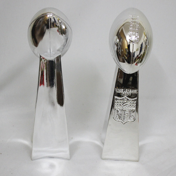 34cm American Football League Trophy Cup The Vince Lombardi Trophy Height replica Super Bowl Trophy Rugby Nice Gift