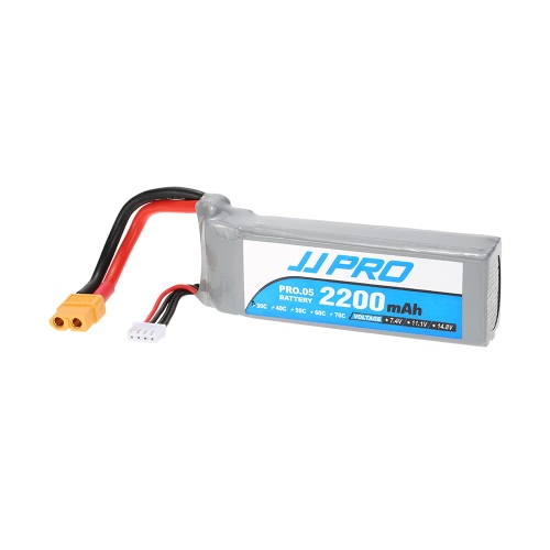 Original JJRC JJPRO 11.1V 2200mAh 30C 3S Li-Po Battery XT60 Plug for P175 P200 QAV180 200 QAV250 ZMR250 H280 RC Quadcopter Drone